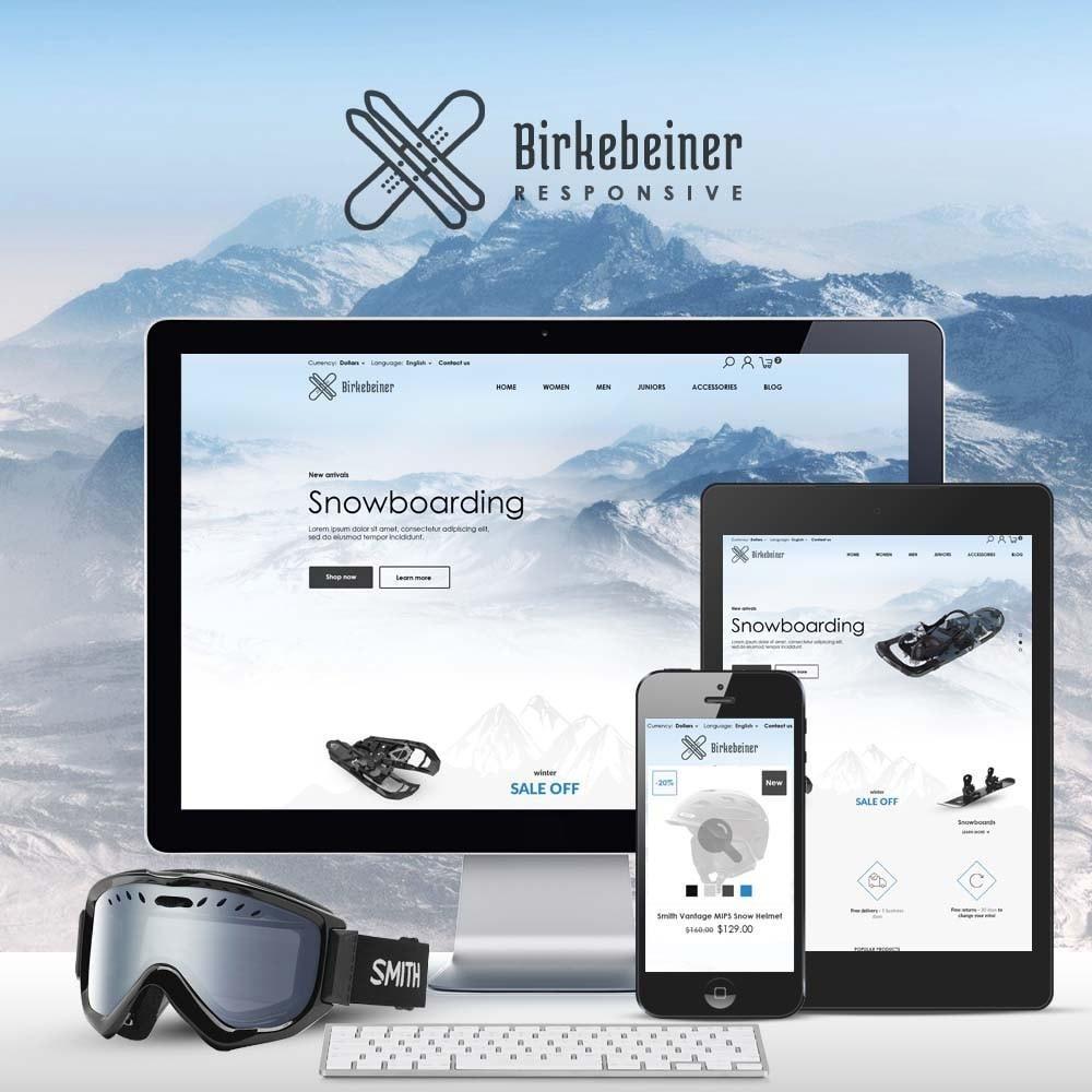 theme - Sport, Loisirs & Voyage - Birkebeiner - Active Sport - 1