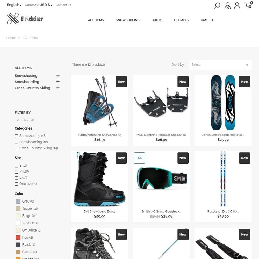 theme - Sport, Loisirs & Voyage - Birkebeiner - Active Sport - 7