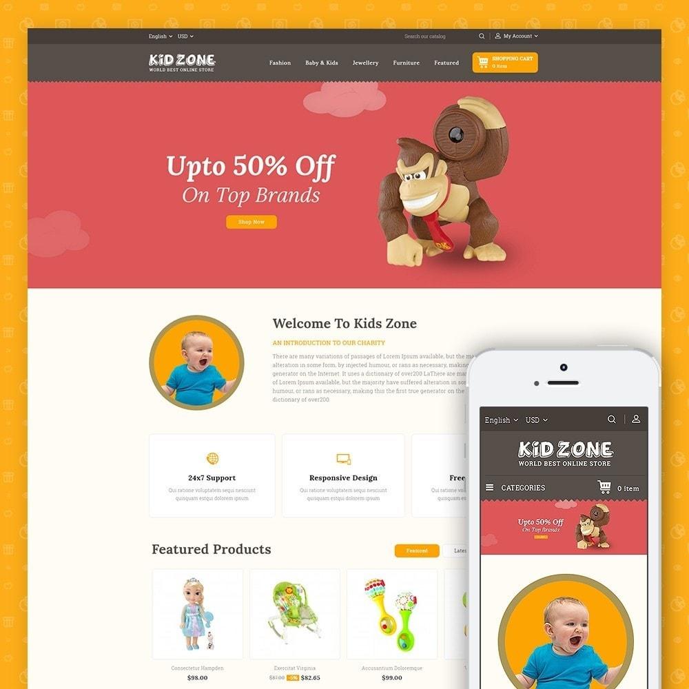 theme - Дети и Игрушки - Kid Zone Online Store - 1