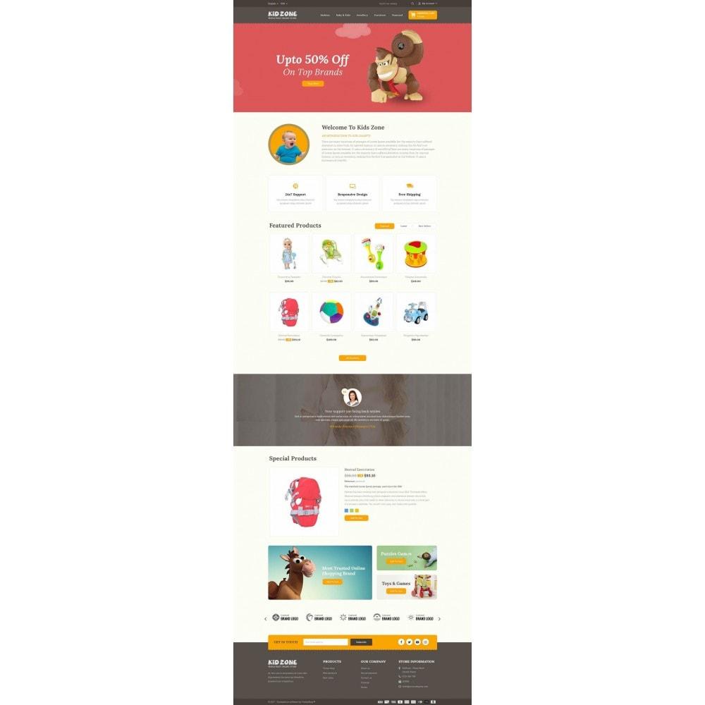theme - Дети и Игрушки - Kid Zone Online Store - 2