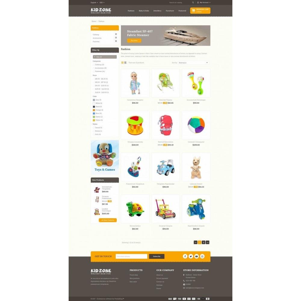 theme - Дети и Игрушки - Kid Zone Online Store - 3