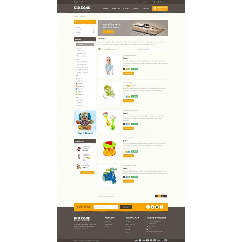 theme - Дети и Игрушки - Kid Zone Online Store - 4