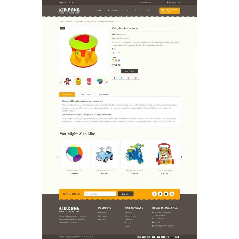 theme - Дети и Игрушки - Kid Zone Online Store - 5