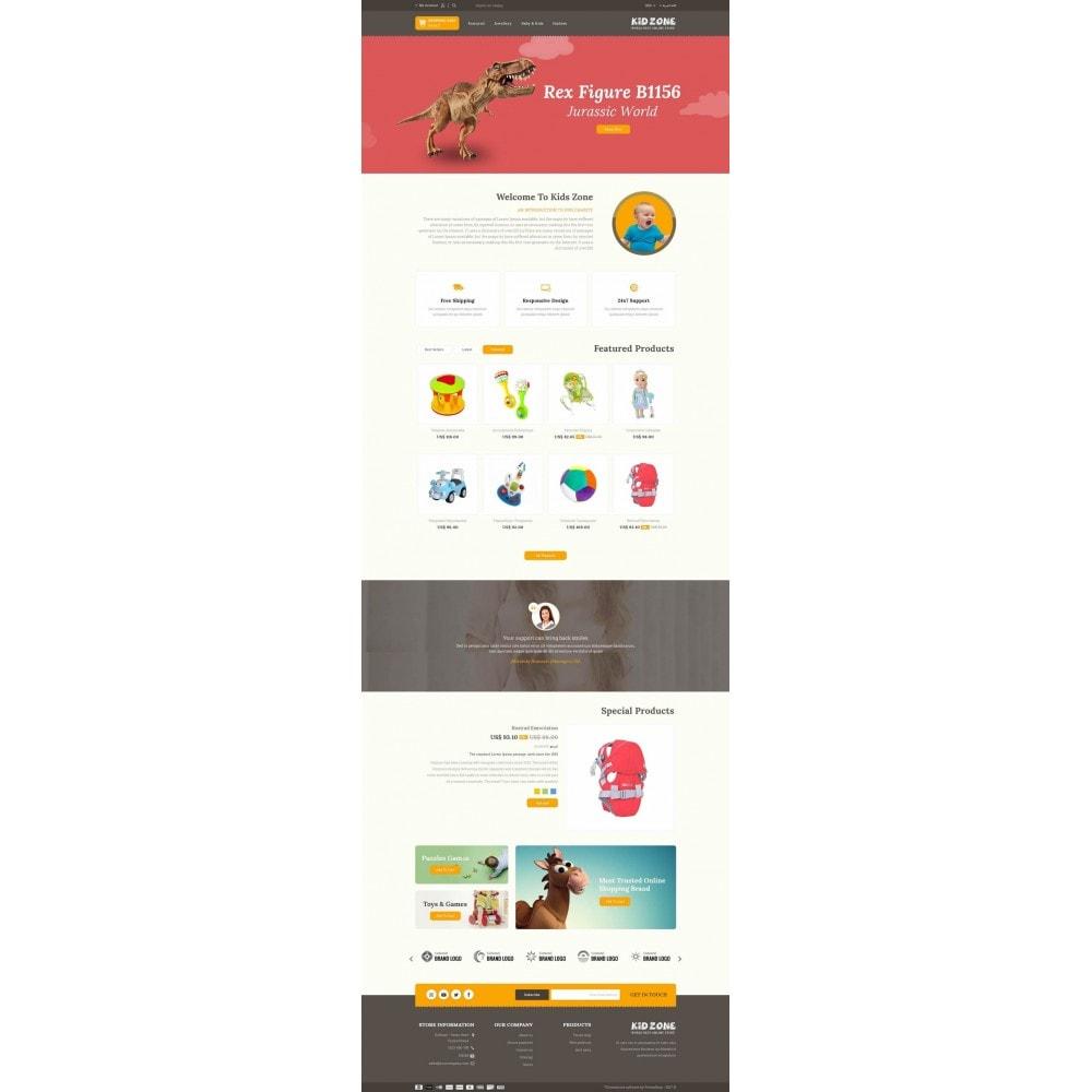 theme - Дети и Игрушки - Kid Zone Online Store - 6