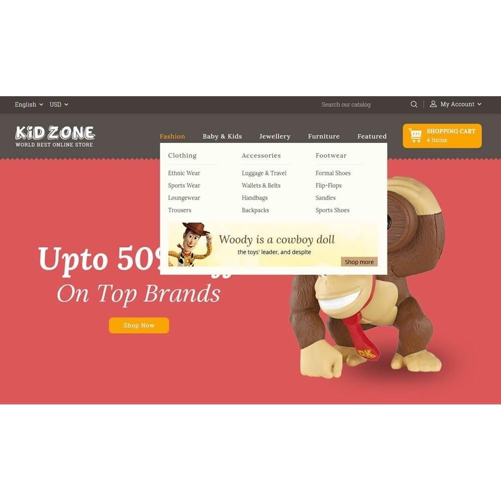theme - Дети и Игрушки - Kid Zone Online Store - 7