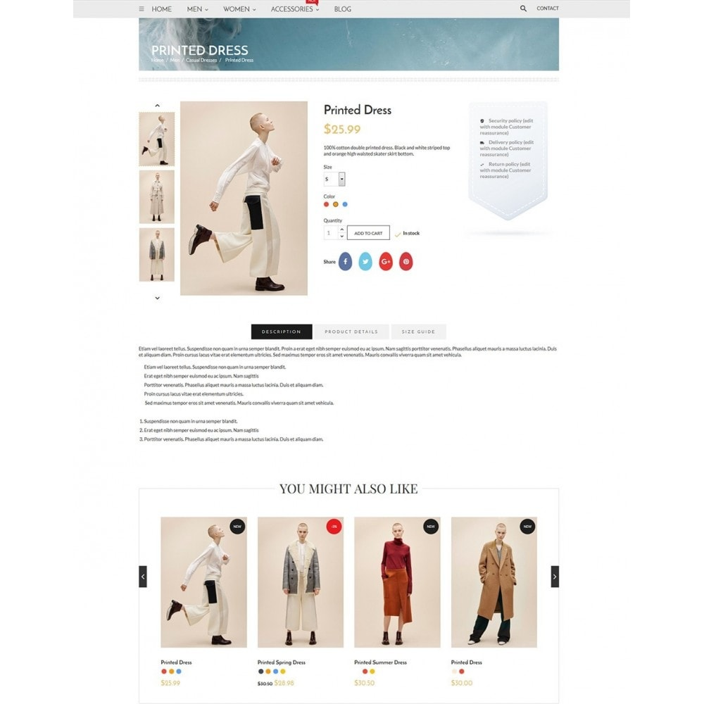 theme - Mode & Chaussures - Blanc Fashion Store - 6