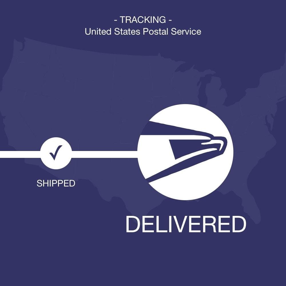 module - Bezorging volgen - USPS tracking - 1