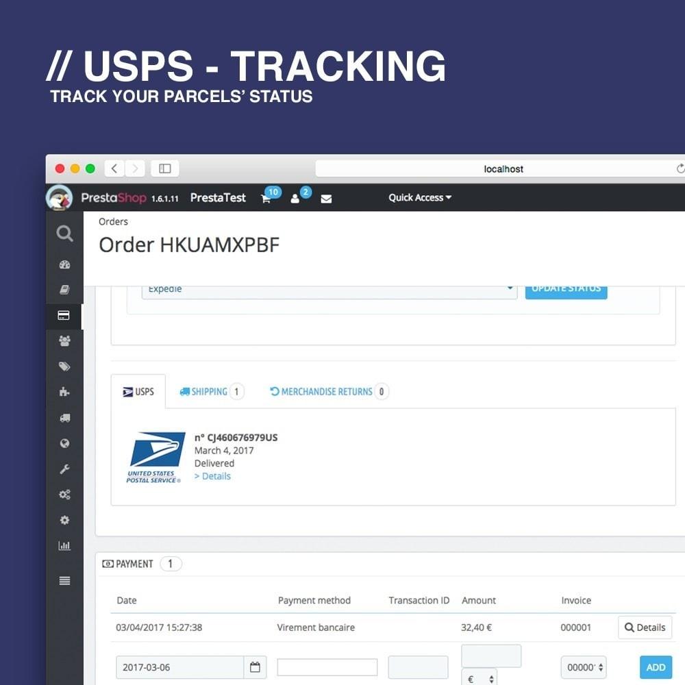 module - Bezorging volgen - USPS tracking - 3