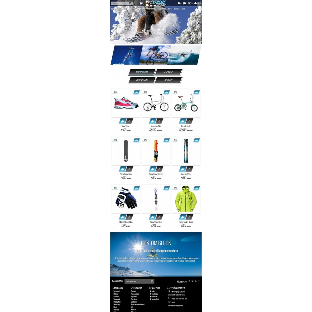 theme - Sport, Loisirs & Voyage - Extreme Sport Store - 5