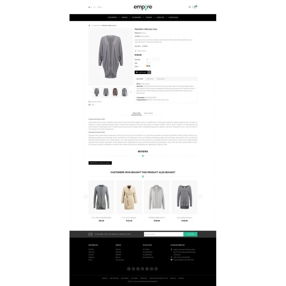 theme - Mode & Chaussures - Empire Shop - 5