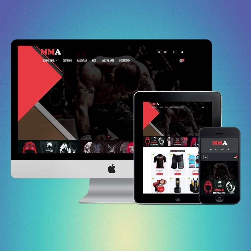 theme - Sports, Activities & Travel - VP_MMA Store - 1