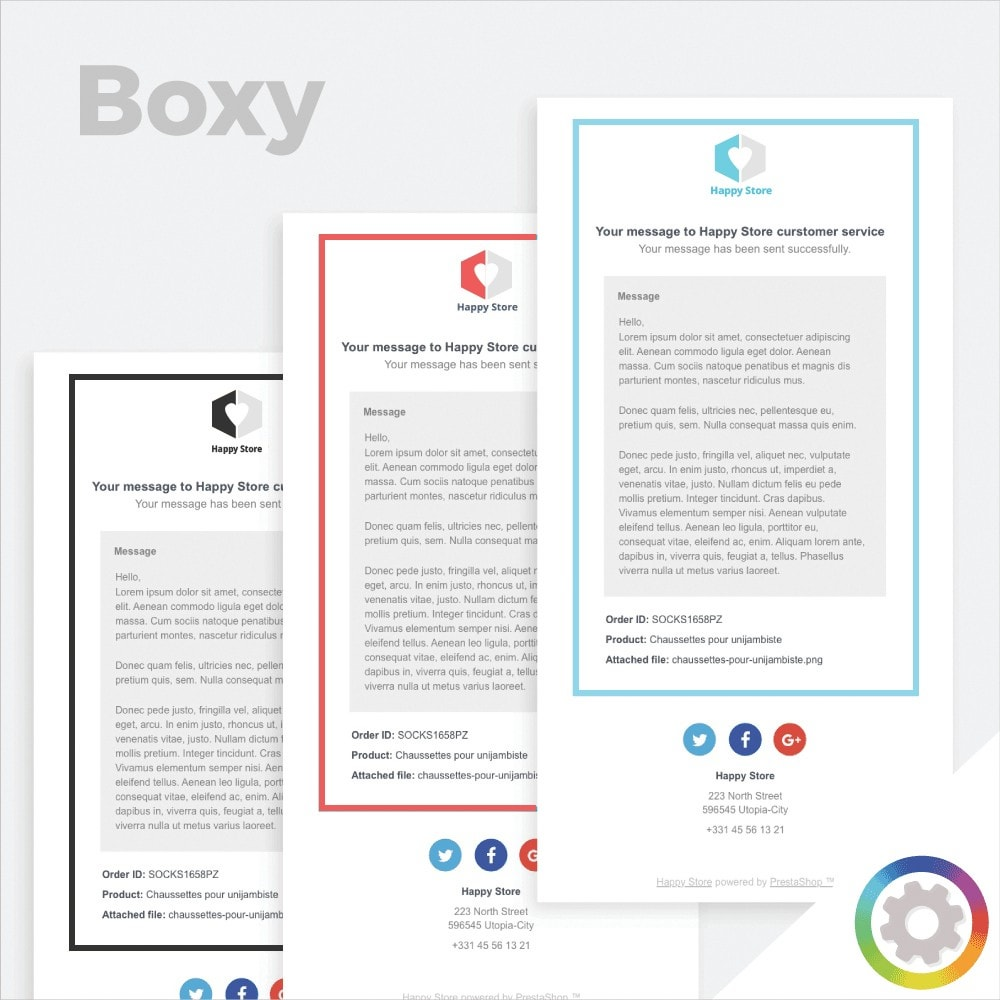 email - Template di e-mail PrestaShop - Boxy - Template di e-mail by PrestaShop - 1