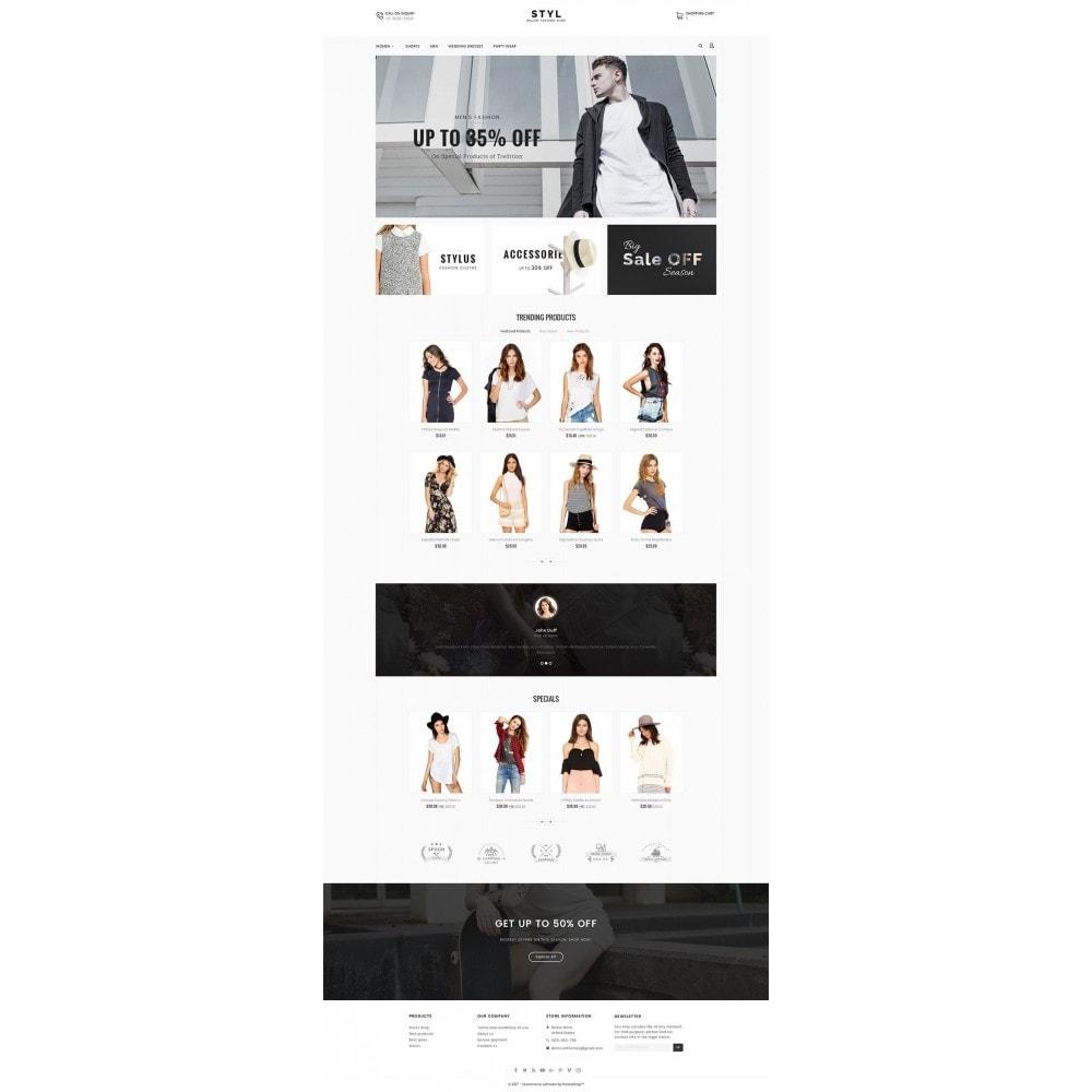 theme - Moda & Obuwie - Style Fashion Store - 2