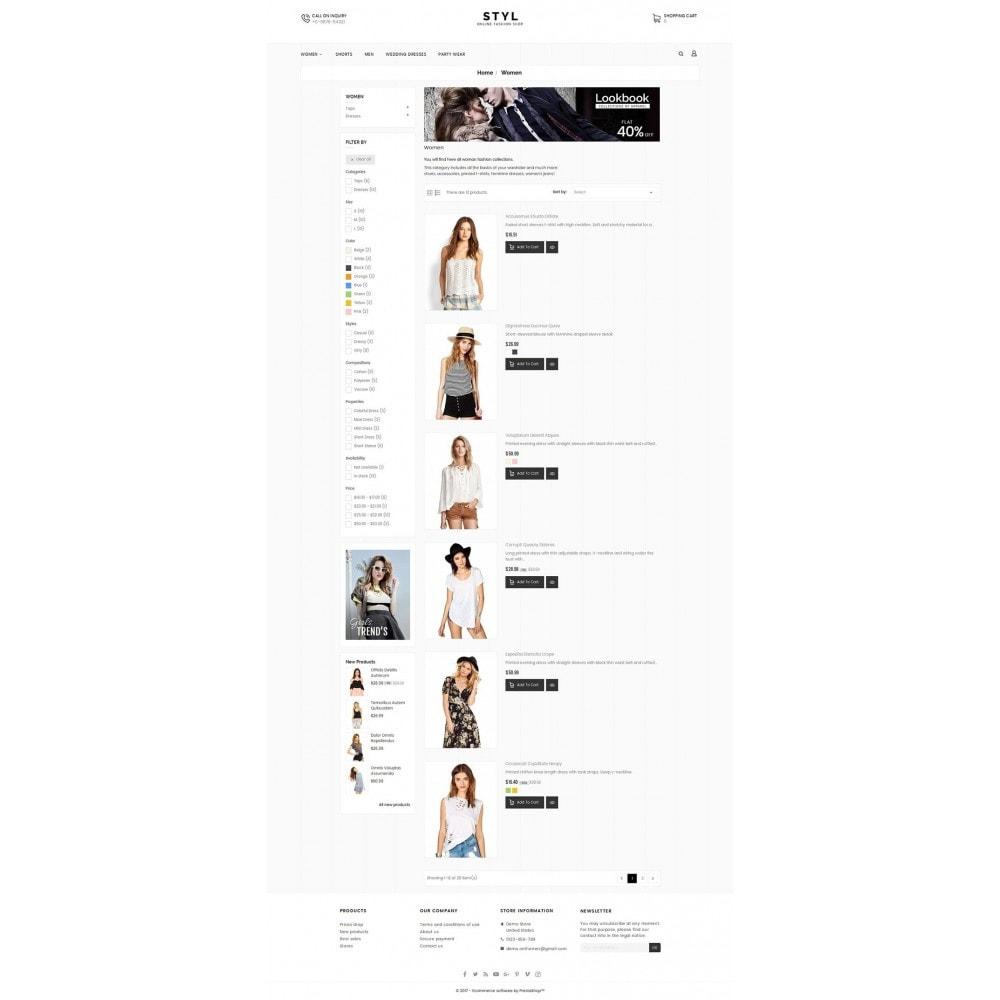 theme - Moda & Obuwie - Style Fashion Store - 4
