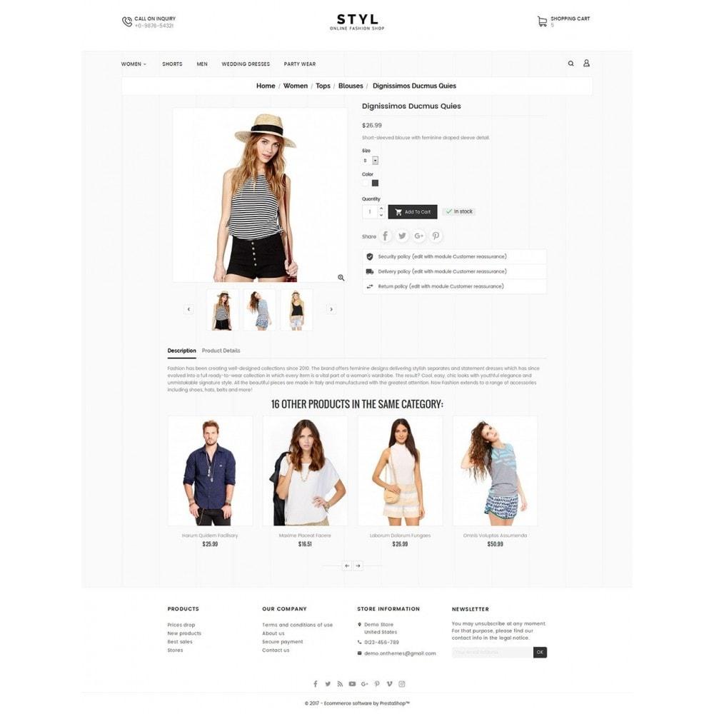 theme - Moda & Obuwie - Style Fashion Store - 5