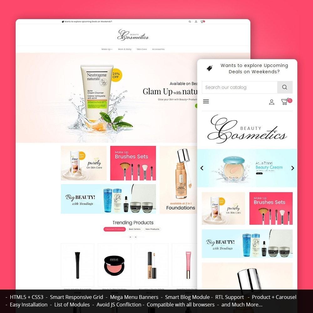 theme - Health & Beauty - Cosmetics Store - 1