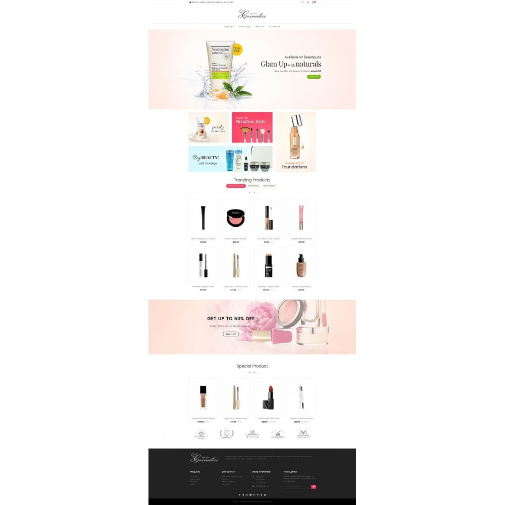theme - Health & Beauty - Cosmetics Store - 2