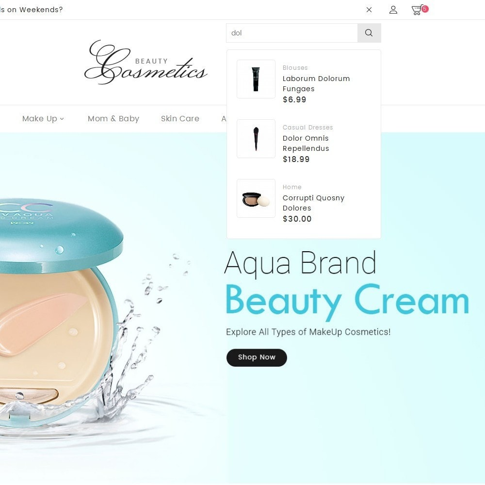 theme - Salud y Belleza - Cosmetics Store - 9
