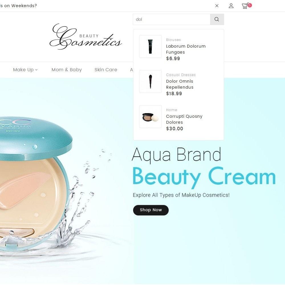 theme - Health & Beauty - Cosmetics Store - 9