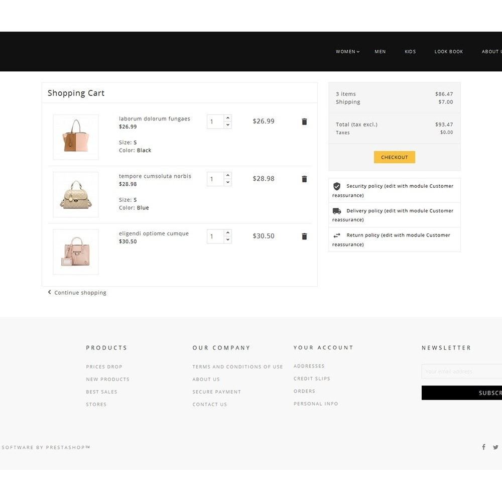 theme - Мода и обувь - Fashion Bag Store - 6