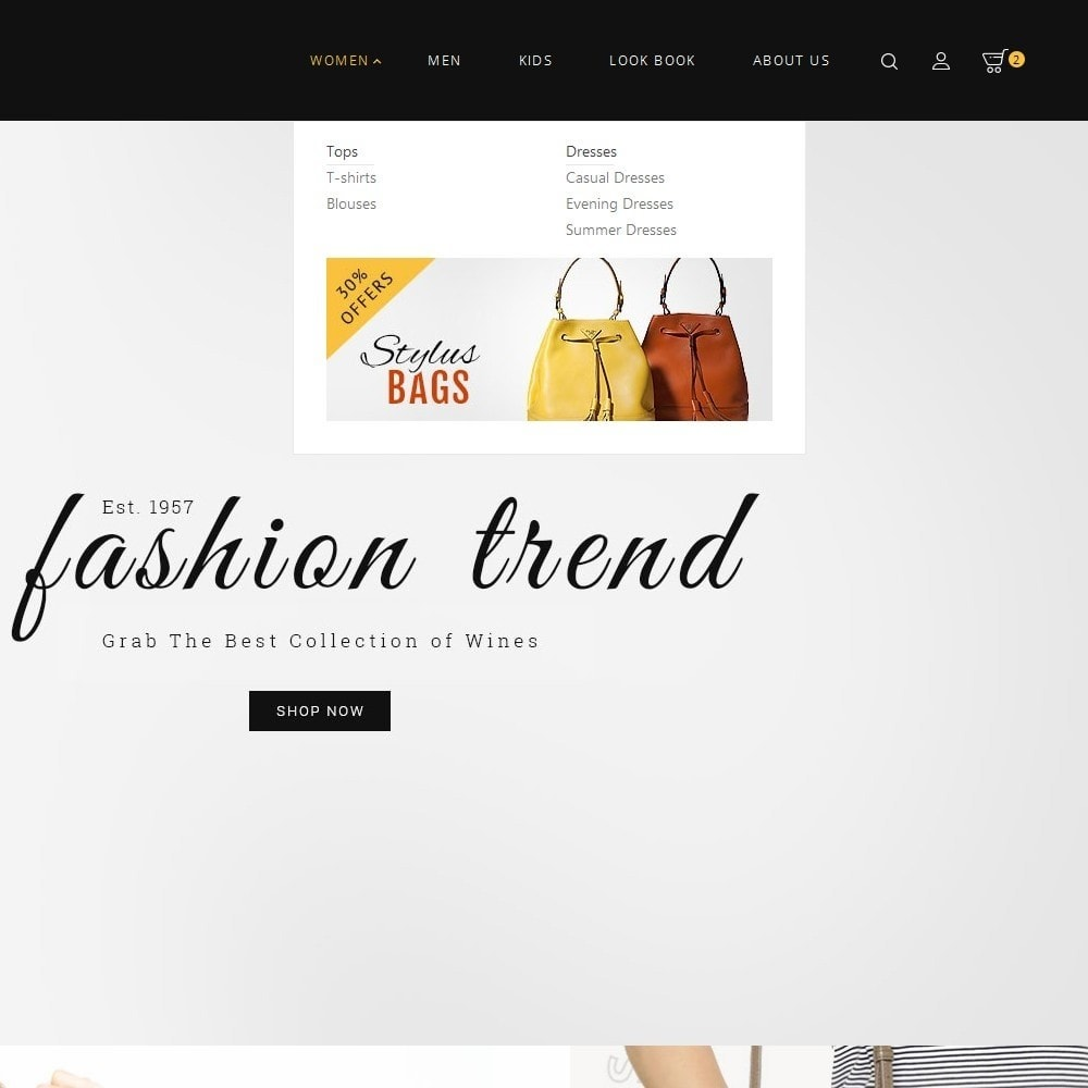theme - Мода и обувь - Fashion Bag Store - 9