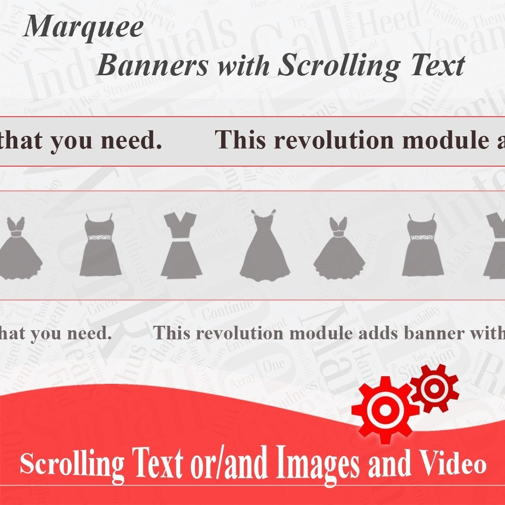 module - Blocks, Reiter & Banner - Marquee, Banners with Scrolling Text or Images - 1