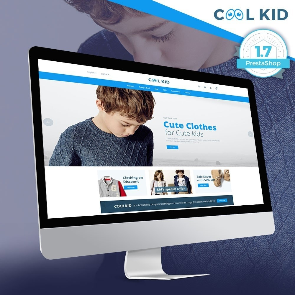 theme - Kids & Toys - Coolkid - Kids Store - 1