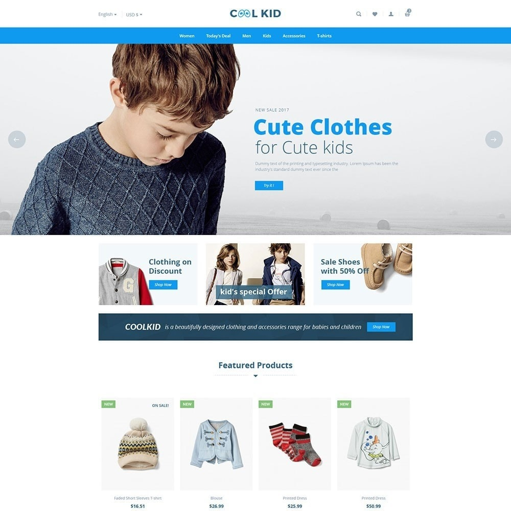 theme - Kids & Toys - Coolkid - Kids Store - 2