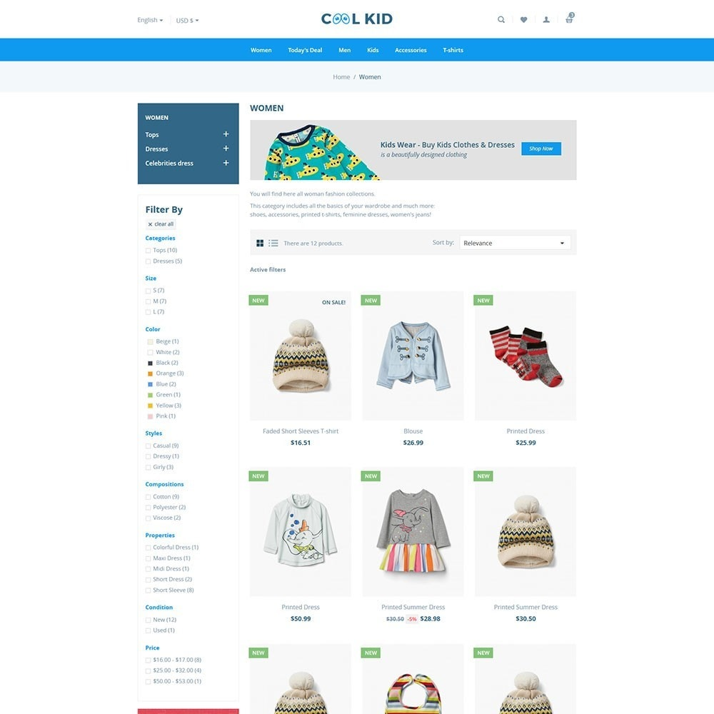 theme - Kids & Toys - Coolkid - Kids Store - 3