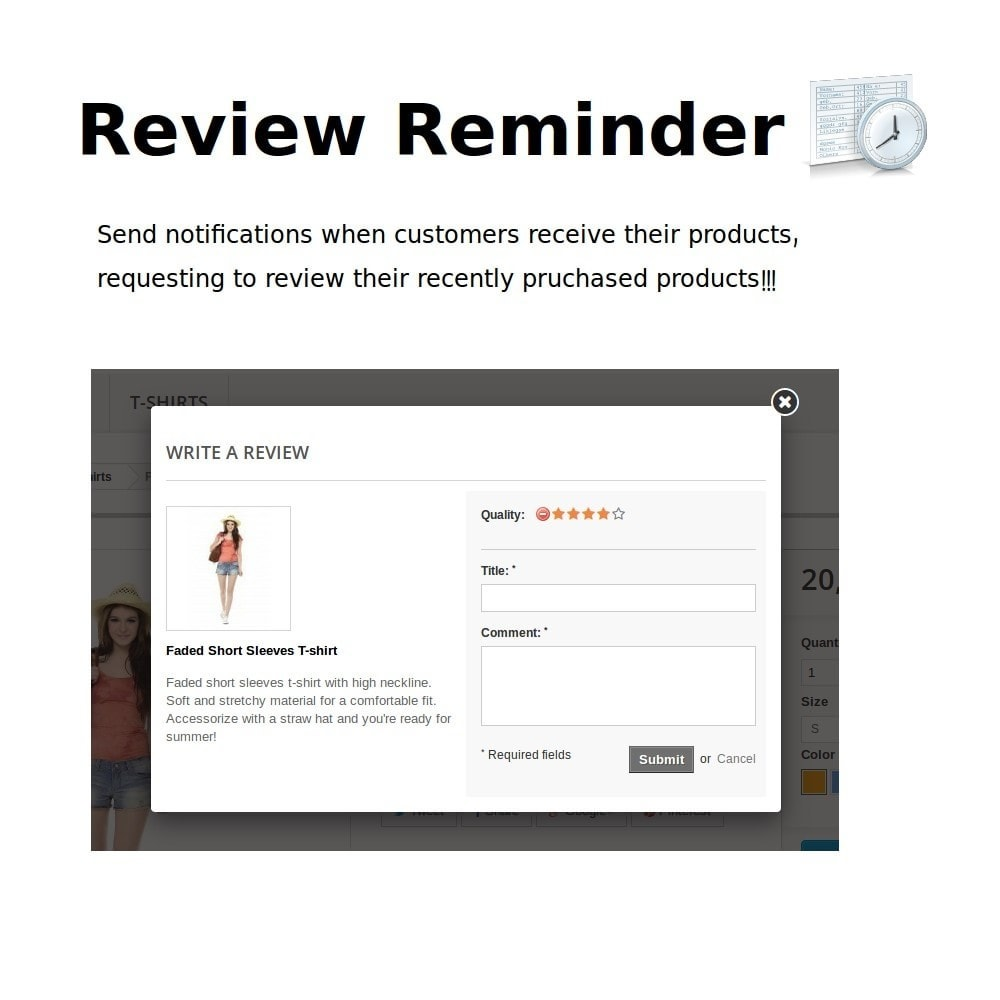 module - Customer Reviews - Review Reminder - 1