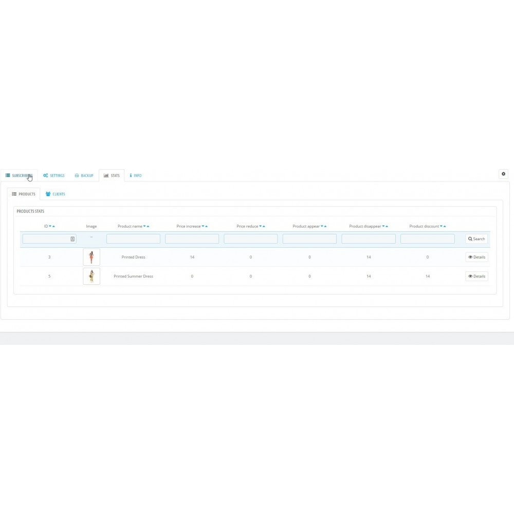 module - электронные письма и уведомления - Product updates notifications - 11