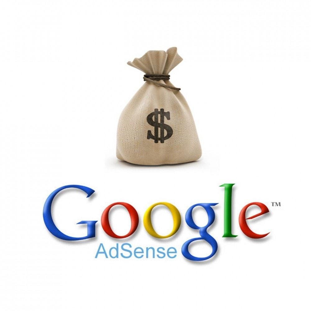 module - Betaalde vermelding & Lidmaatschap - Easy Google Adsense - 1