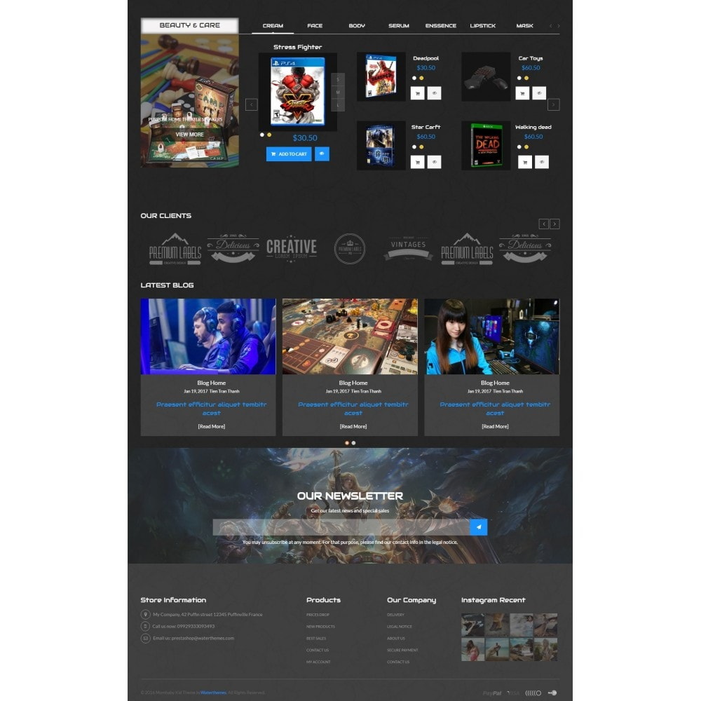 theme - Elektronika & High Tech - Star Games And Movie Store - 4