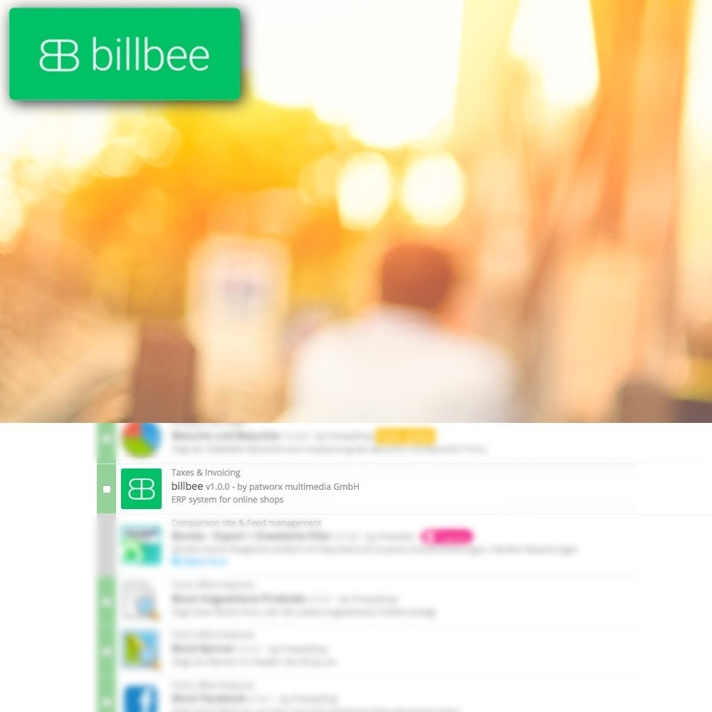 module - Integrazione (CRM, ERP...) - Billbee - Solution for Multichannel-Merchants - 1