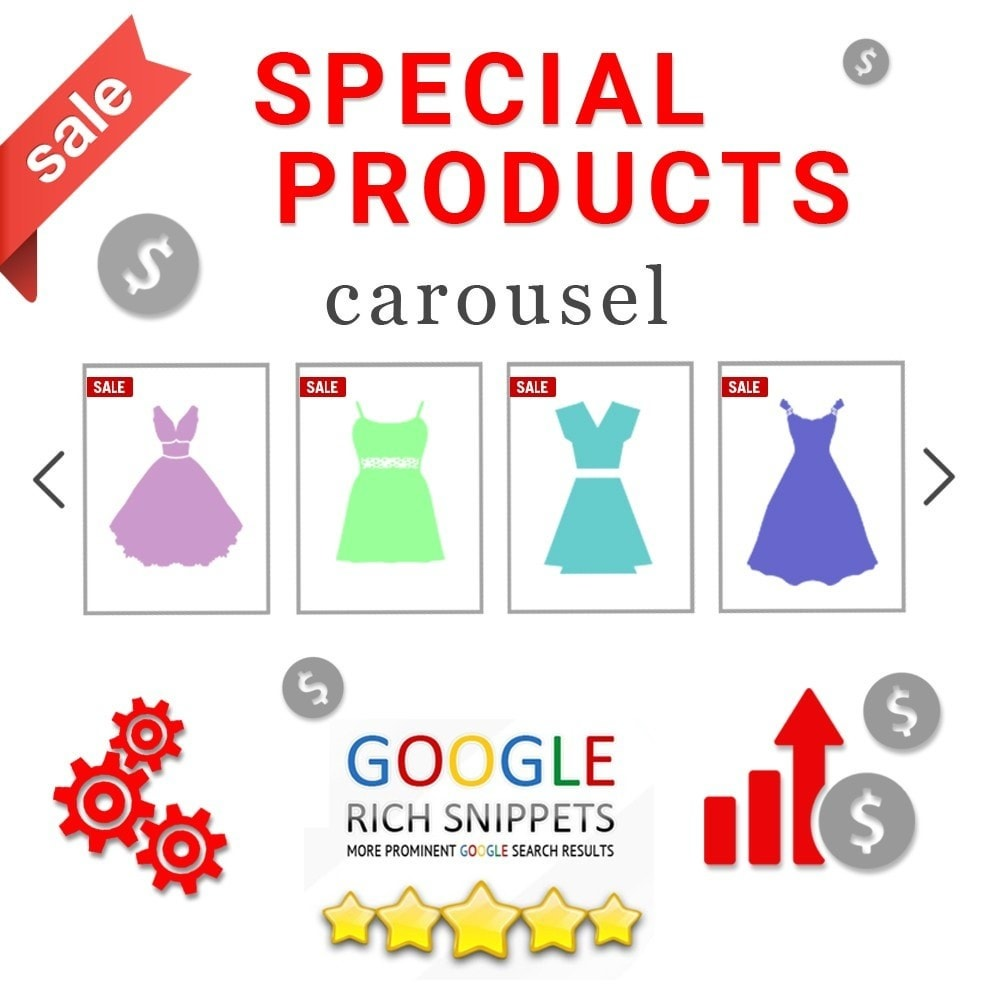 module - Sliders & Galerias - Special products carousel with Google Rich Snippets - 1