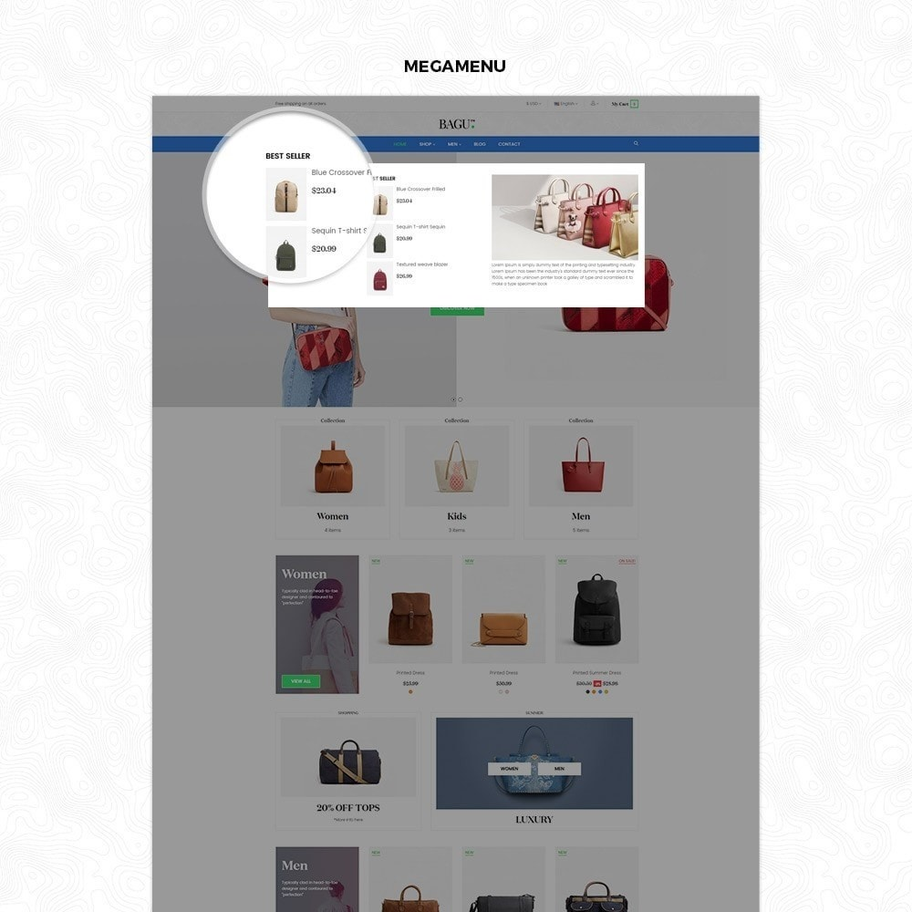 theme - Мода и обувь - Bag Fashion Store - 2
