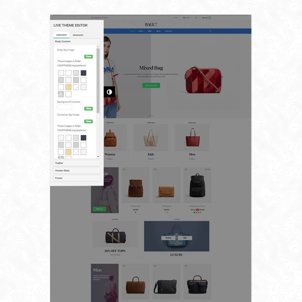 theme - Мода и обувь - Bag Fashion Store - 3