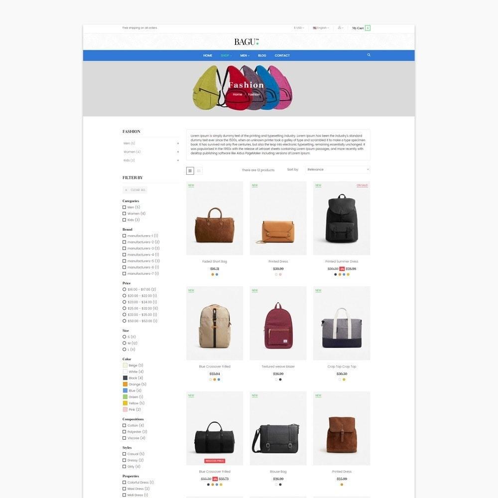 theme - Мода и обувь - Bag Fashion Store - 4