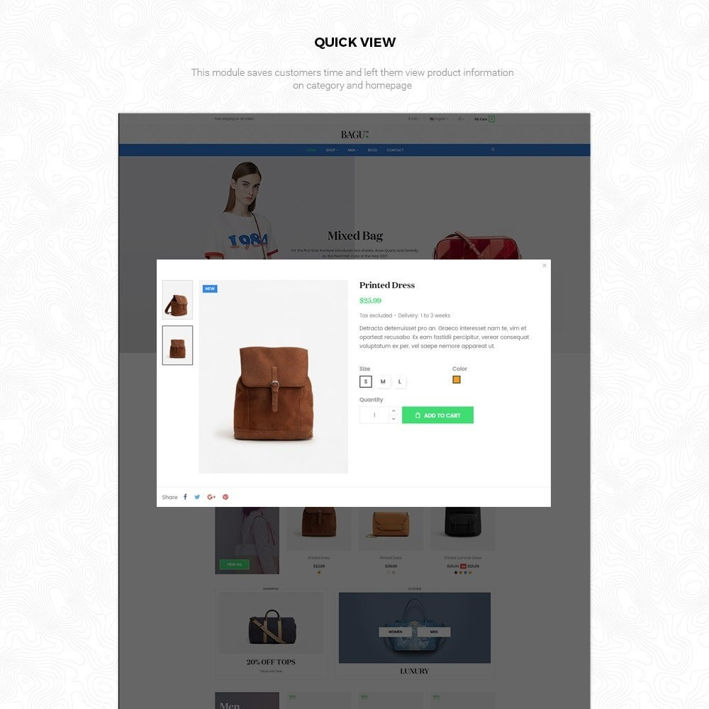 theme - Мода и обувь - Bag Fashion Store - 5