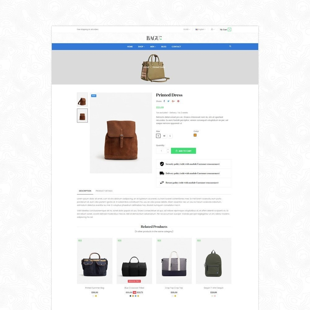 theme - Мода и обувь - Bag Fashion Store - 6