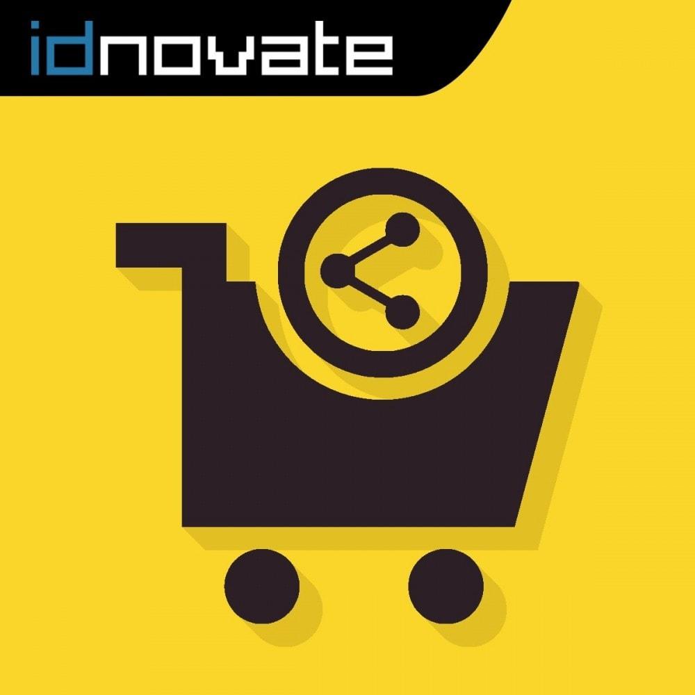 module - Compartir contenidos y Comentarios - Compartir y guardar carrito - Crear carrito desde URL - 1