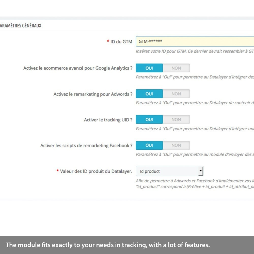 module - Remarketing & Warenkorbabbrüche - Enhanced Analytics, Adwords, Bing, social tracking - 4