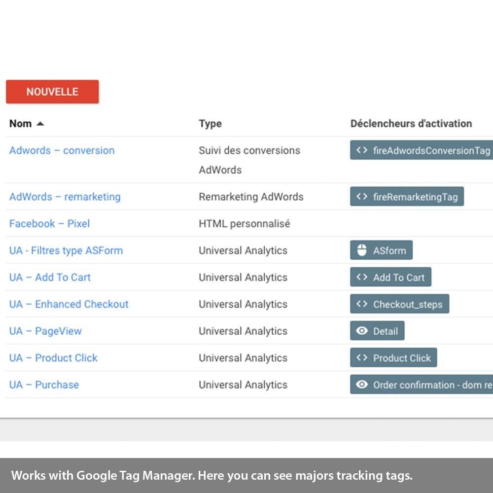 module - Remarketing & Warenkorbabbrüche - Enhanced Analytics, Adwords, Bing, social tracking - 5