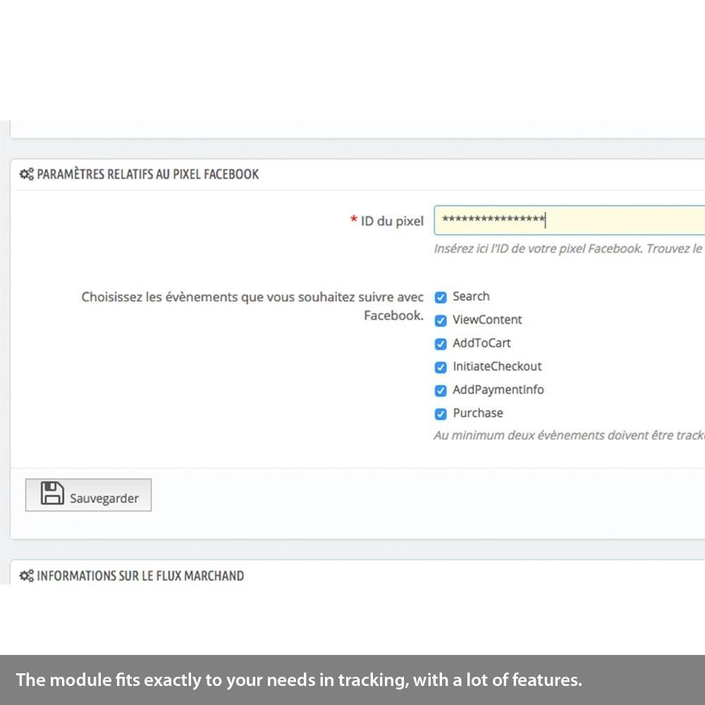 module - Remarketing & Warenkorbabbrüche - Enhanced Analytics, Adwords, Bing, social tracking - 6