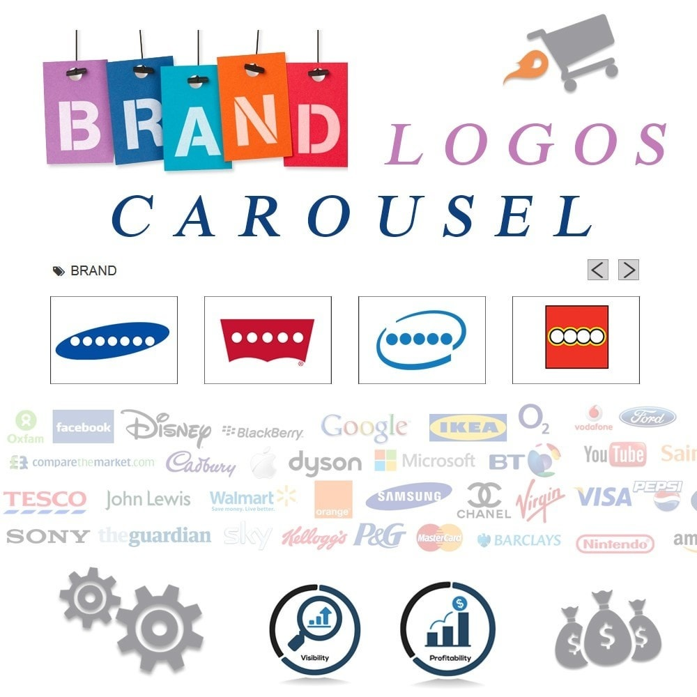 module - Marche & Produttori - Responsive Brand Logos Carousel - 1