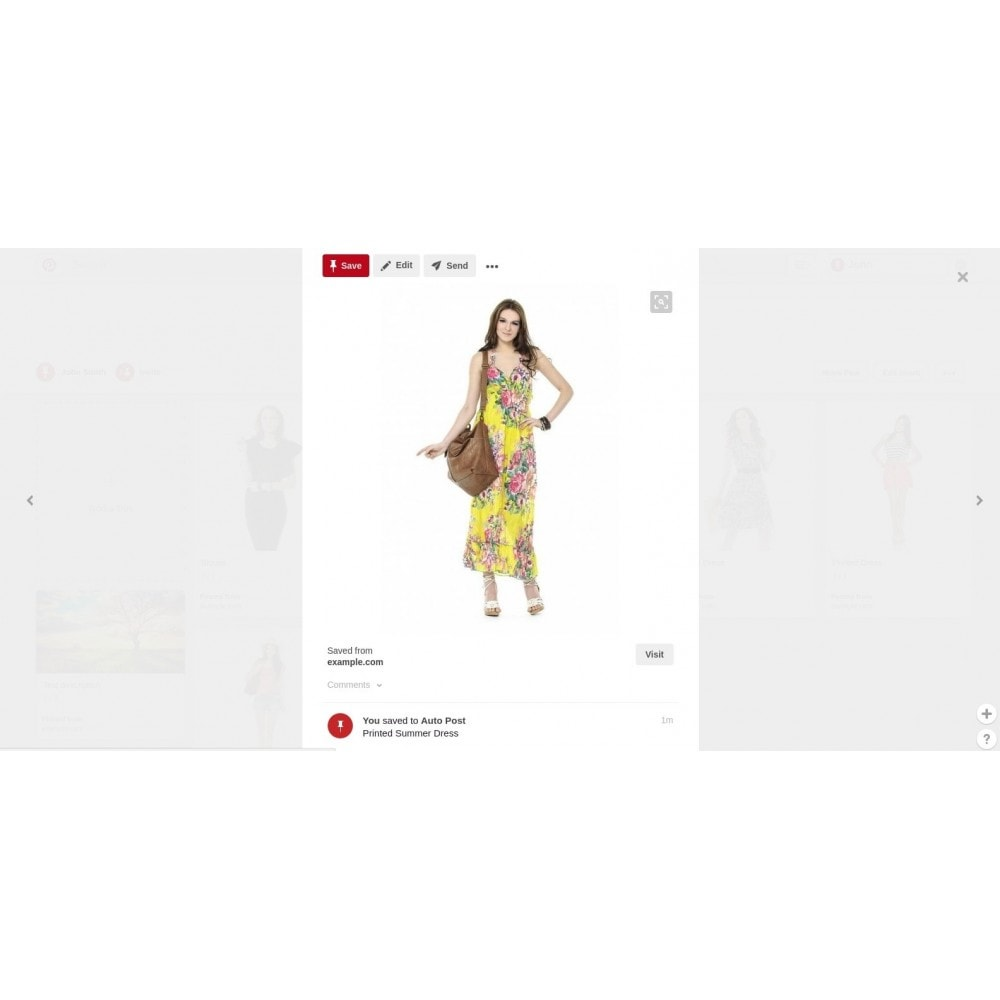 module - Share Buttons & Comments - Auto-Post Products to Pinterest - 2
