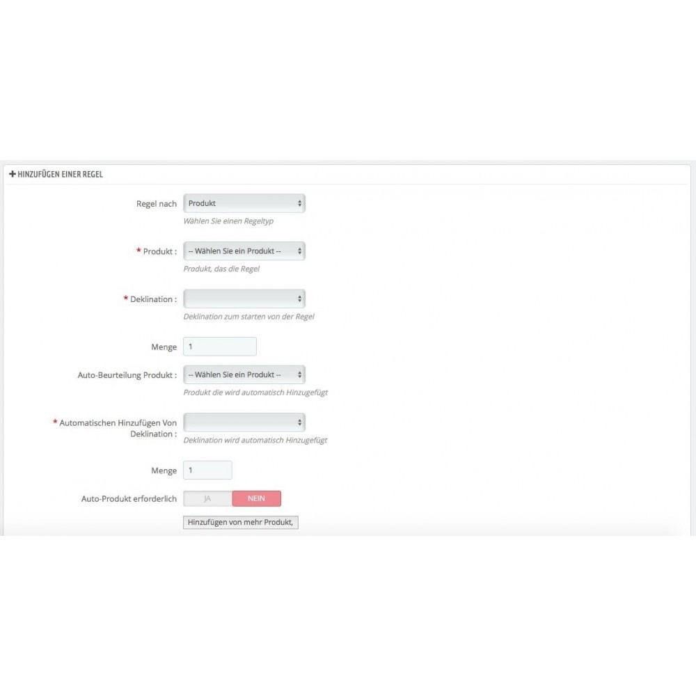 module - Cross-Selling & Produktbundles - Produkt automatisch zum Warenkorb hinzufügen - 3