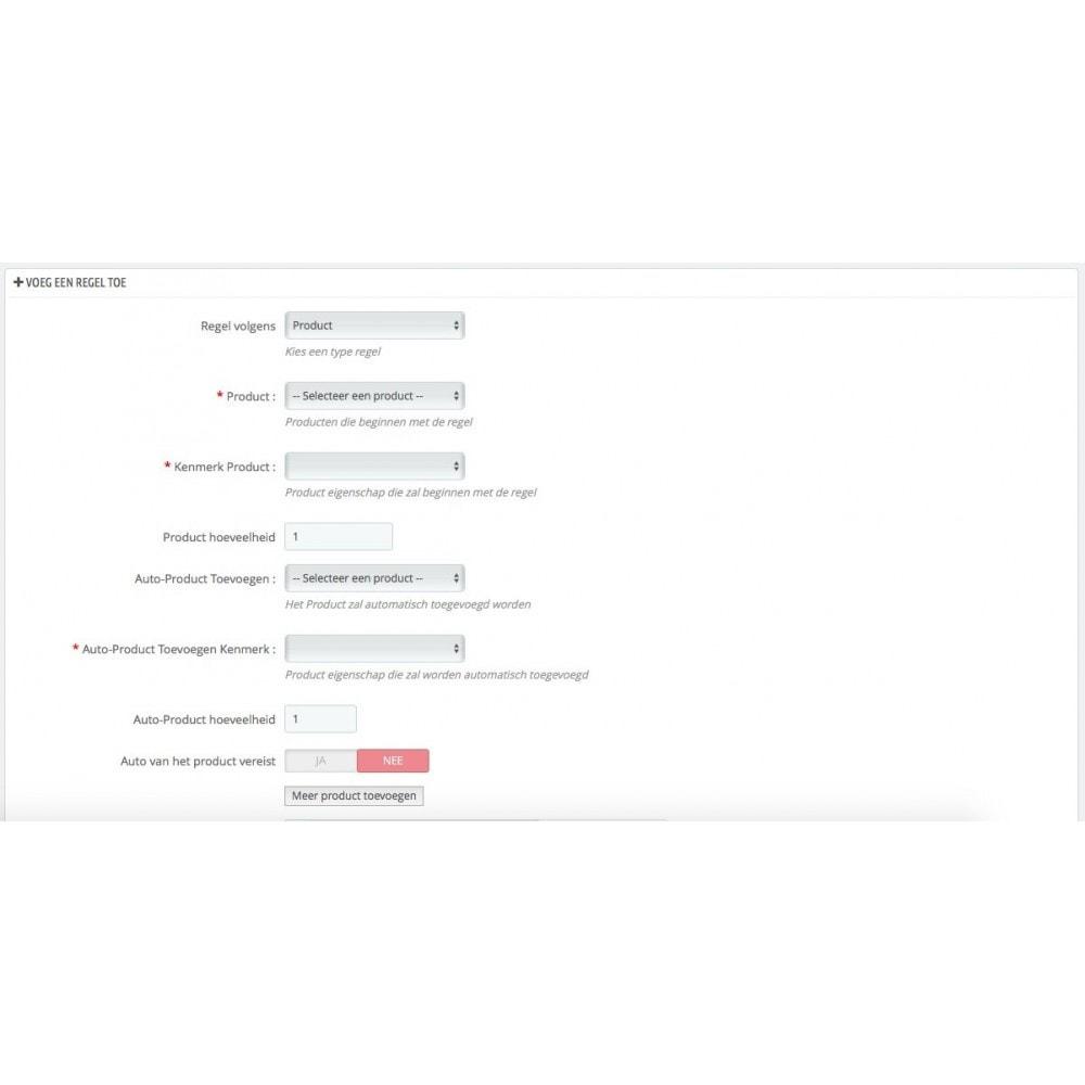 module - Kruisverkoop & Pakketaanbiedingen - Voeg product automatisch toe aan winkelwagen - 3
