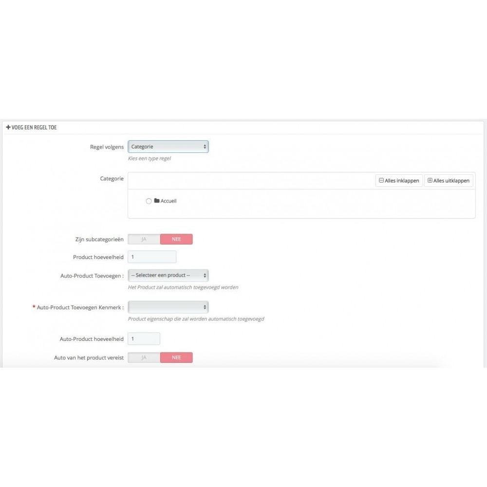 module - Kruisverkoop & Pakketaanbiedingen - Voeg product automatisch toe aan winkelwagen - 4