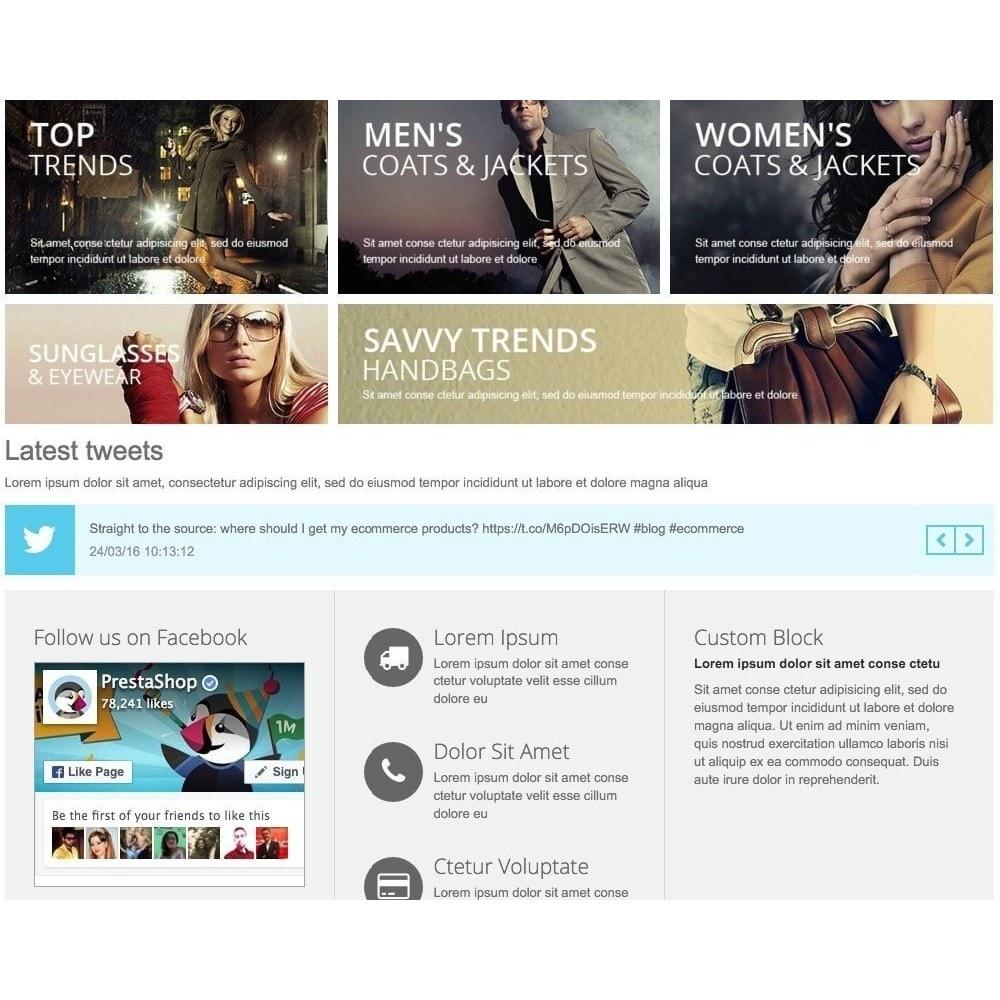 module - Sociale Widgets - Responsive Twitter Widget carousel - 1